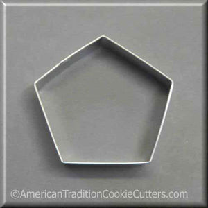 "3.5"" Pentagon Metal Cookie Cutter"