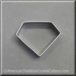 "3"" Diamond Metal Cookie Cutter - American Tradition Cookie Cutters"