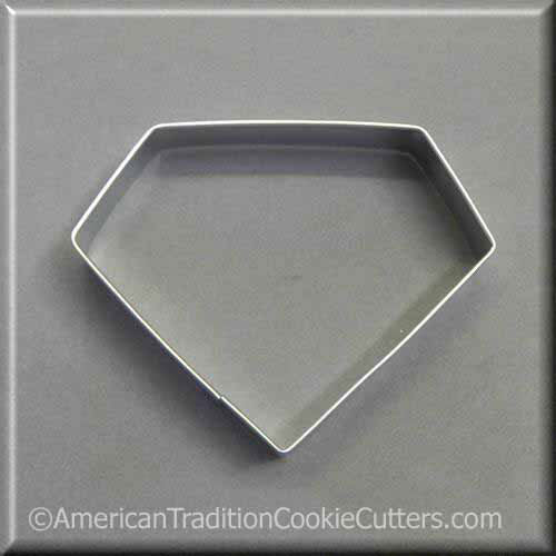 "4"" Diamond Metal Cookie Cutter-americantraditioncookiecutters"