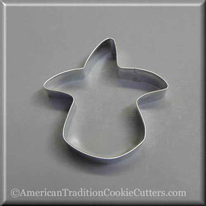 "3.25"" Candy Corn Witch Metal Cookie Cutter"