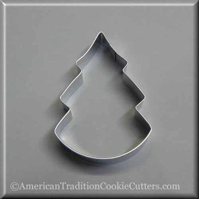 "3.75"" Christmas Tree Metal Cookie Cutter"
