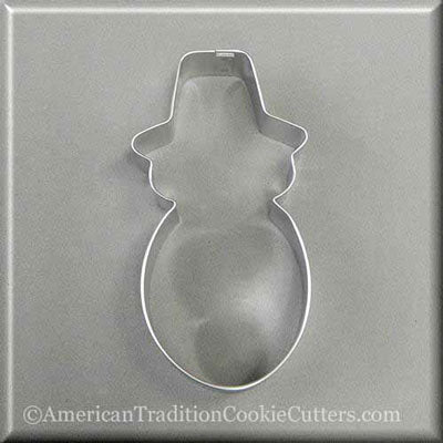 "4.5 ""Snowman Metal Cookie Cutter-americantraditioncookiecutters"