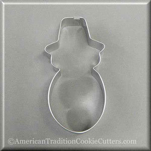 "4.5"" Snowman Metal Cookie Cutter-americantraditioncookiecutters"