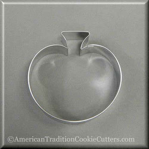 "3.75"" Pumpkin or Apple Metal Cookie Cutter - American Tradition Cookie Cutters"