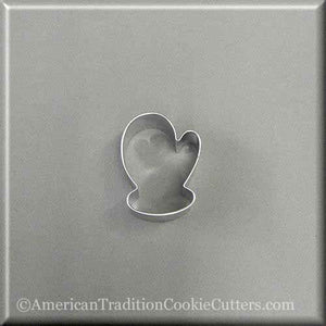 "1.75"" Mini Mitten Metal Cookie Cutter - American Tradition Cookie Cutters"