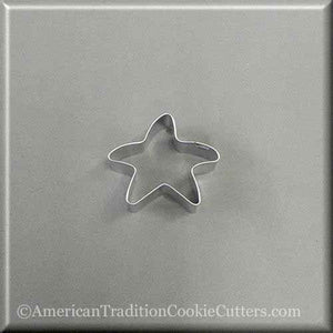 "1.75"" Mini Folk Star Metal Cookie Cutter - American Tradition Cookie Cutters"