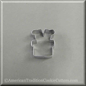 "2"" Mini Santa Feet in Chimney Metal Cookie Cutter"