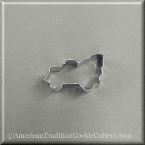 "2.5"" Mini Truck with Tree Metal Cookie Cutter"