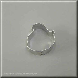 "2"" Mini Baby Easter Chick Metal Cookie Cutter-americantraditioncookiecutters"