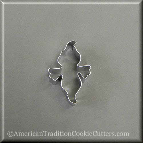 "2.5"" Mini Ghost Metal Cookie Cutter-americantraditioncookiecutters"