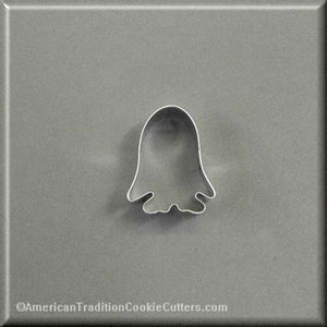 "2"" Mini Halloween Ghost Costume Metal Cookie Cutter - American Tradition Cookie Cutters"