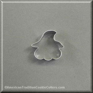 "2"" Mini Pumpkin in Hat Metal Cookie Cutter - American Tradition Cookie Cutters"
