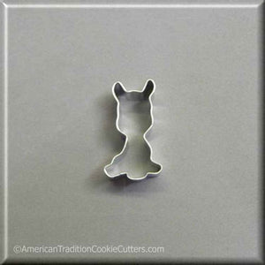 "2.25"" Mini Llama Metal Cookie Cutter - American Tradition Cookie Cutters"