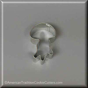 "2"" Mini Jellyfish Metal Cookie Cutter - American Tradition Cookie Cutters"
