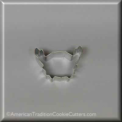 "2.25"" Mini Crab Metal Cookie Cutter - American Tradition Cookie Cutters"
