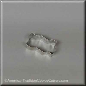 "2"" Mini Zig Zag Interlocking Brick Metal Cookie Cutter - American Tradition Cookie Cutters"
