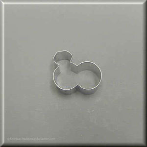 "1.75"" Mini Double Engagement Wedding Rings Metal Cookie Cutter - American Tradition Cookie Cutters"