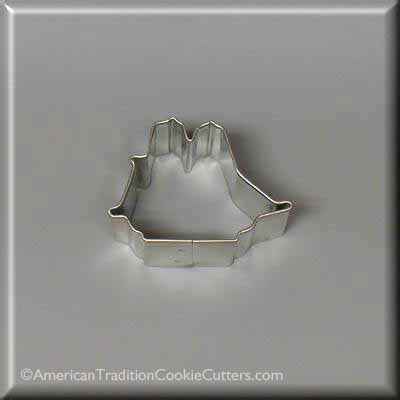 "2"" Mini Sailing Ship Metal Cookie Cutter - American Tradition Cookie Cutters"