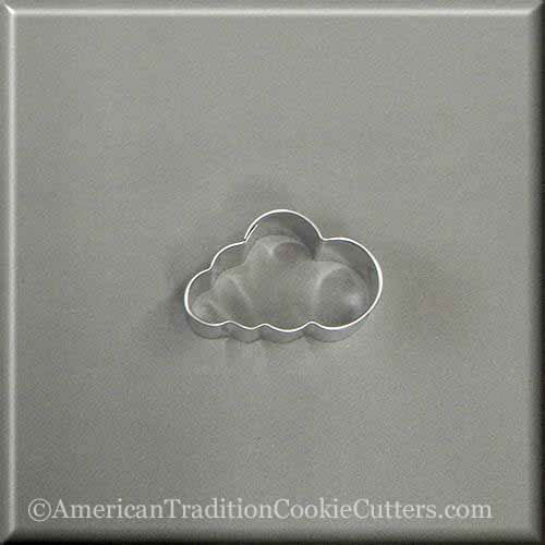 "2"" Mini Cloud Metal Cookie Cutter - American Tradition Cookie Cutters"