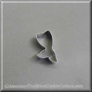 "2"" Mini Mermaid Tail Metal Cookie Cutter - American Tradition Cookie Cutters"
