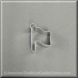 "2"" Mini Flag Metal Cookie Cutter - American Tradition Cookie Cutters"