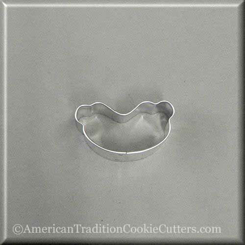 "2"" Mini Hot Dog Metal Cookie Cutter - American Tradition Cookie Cutters"