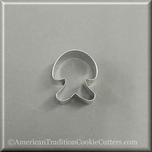 "2"" Mini Jellyfish Metal Cookie Cutter"