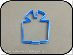 "4"" Present 3D Printed Cookie Cutter-americantraditioncookiecutters"