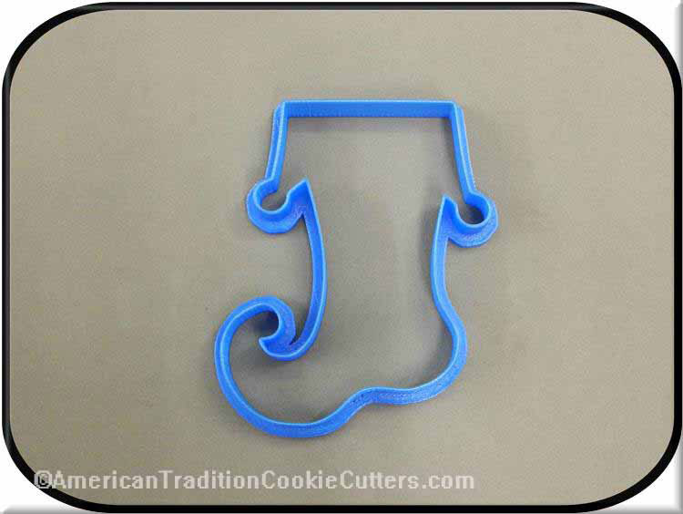 "4.75"" Christmas Stocking 3D Printed Plastic Cookie Cutter-americantraditioncookiecutters"