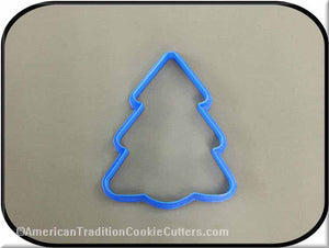 "4"" Christmas Tree 3D Printed Plastic Cookie Cutter"