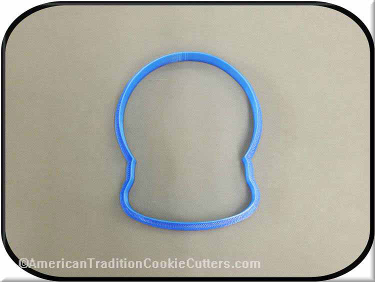 "4"" Snow Globe 3D Printed Plastic Cookie Cutter-americantraditioncookiecutters"