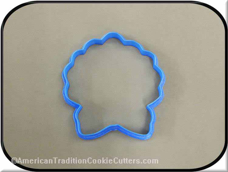 "4"" Wreath 3D Printed Plastic Cookie Cutter"