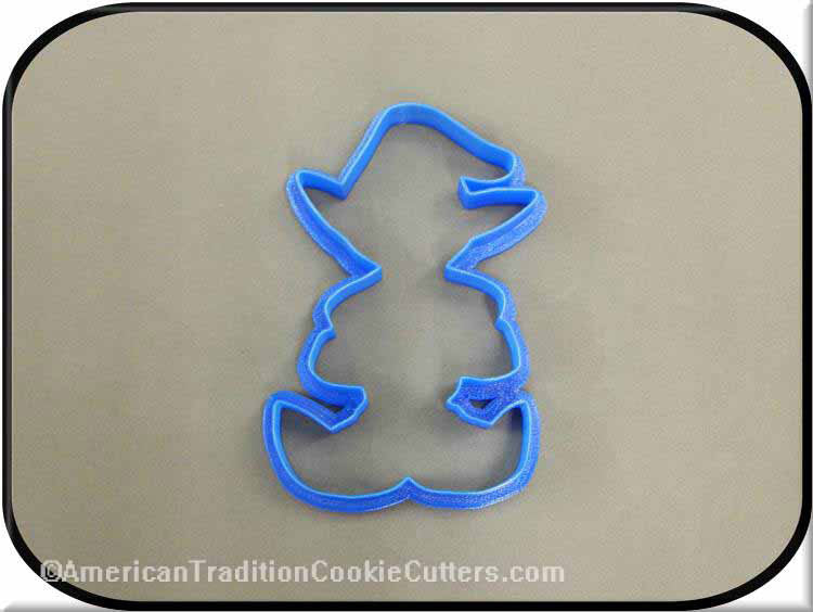 "4"" Elf 3D Printed Plastic Cookie Cutter"