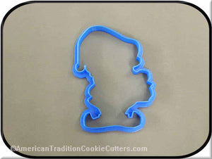 "4.5"" Elf with Lantern 3D Printed Plastic Cookie Cutter-americantraditioncookiecutters"