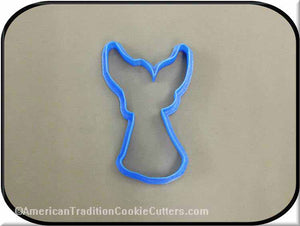 "4"" Angel 3D Printed Plastic Cookie Cutter"