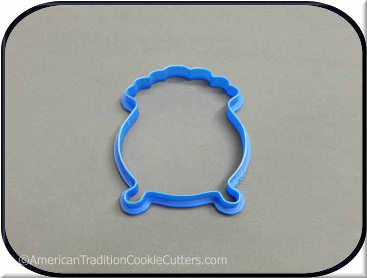 "4"" Pot O Gold 3D Printed Plastic Cookie Cutter"