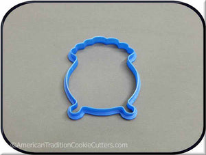 "4"" Pot O Gold 3D Printed Plastic Cookie Cutter-americantraditioncookiecutters"