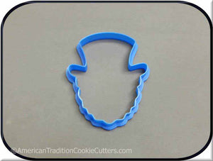 "4"" Leprechaun 3D Printed Plastic Cookie Cutter-americantraditioncookiecutters"