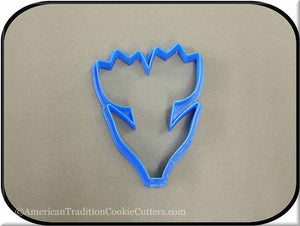 "4"" Tulip 3D Printed Plastic Cookie Cutter-americantraditioncookiecutters"