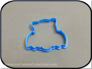 "4"" Flying Bat 3D Printed Plastic Cookie Cutter-americantraditioncookiecutters"