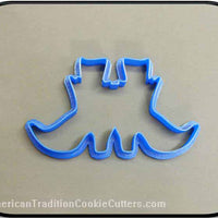 "5"" Witch's Shoes 3D Printed Plastic Cookie Cutter-americantraditioncookiecutters"