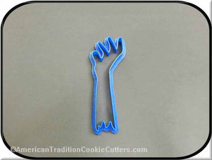 "4.5"" Zombie Hand from Grave 3D Printed Plastic Cookie Cutter-americantraditioncookiecutters"