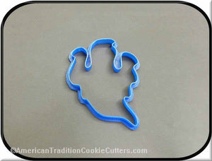 "4.25"" Ghost 3D Printed Plastic Cookie Cutter-americantraditioncookiecutters"