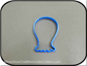 "4"" Monster 3D Printed Plastic Cookie Cutter"