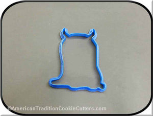 "5"" Monster 3D Printed Plastic Cookie Cutter-americantraditioncookiecutters"