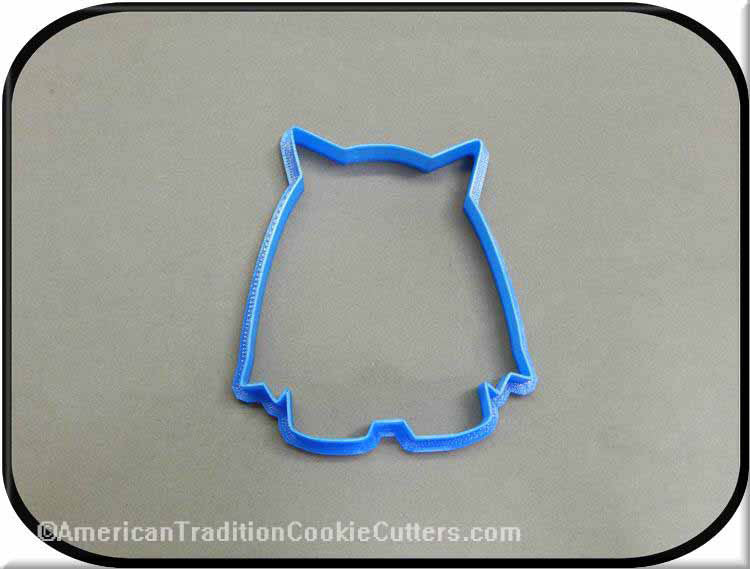 "4.5"" Monster 3D Printed Plastic Cookie Cutter-americantraditioncookiecutters"