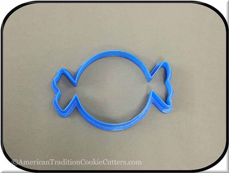 "4.25"" Candy 3D Printed Plastic Cookie Cutter"