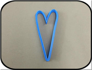 "4.5"" Heart 3D Printed Plastic Cookie Cutter-americantraditioncookiecutters"