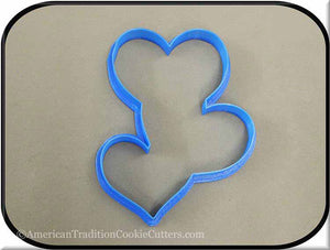 "5"" Chain of Hearts 3D Printed Plastic Cookie Cutter-americantraditioncookiecutters"