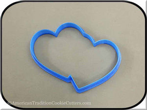 "5"" Hearts 3D Printed Plastic Cookie Cutter-americantraditioncookiecutters"